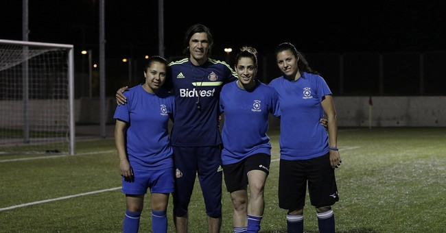Arab-Israeli women break ground on pro soccer team