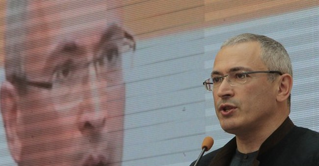 Khodorkovsky criticizes Putin at Kiev forum