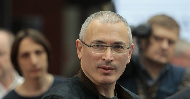 Khodorkovsky criticizes Putin at Kiev forum