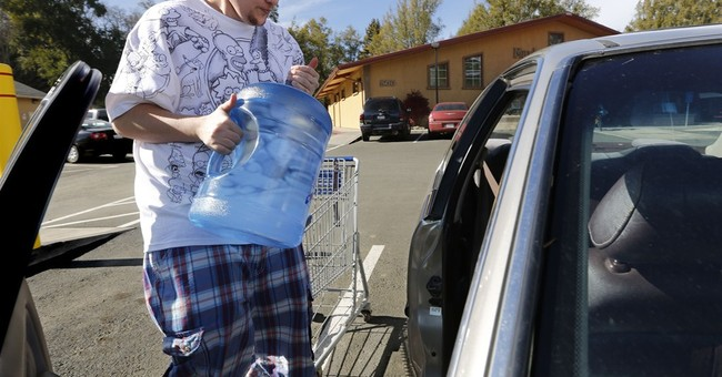 Water picture improves for some California towns