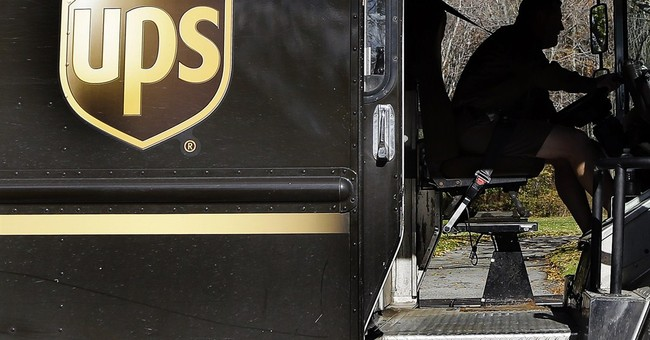 UPS blames winter weather for drop in 1Q profit