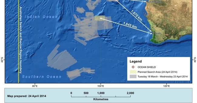 Seabed search for missing Malaysian jet to widen