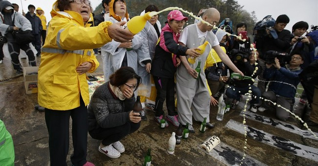 Jokes are out as South Korea mourns ferry victims