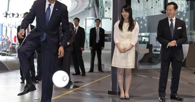 WHITE HOUSE NOTEBOOK: Obama's robot summit