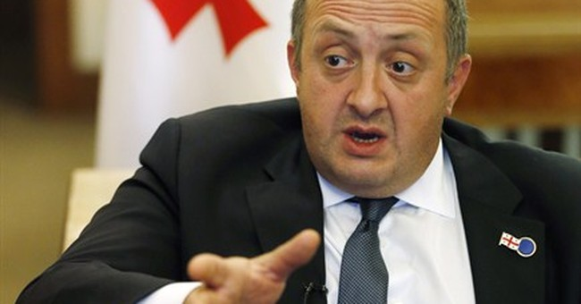 Georgia leader warns West not to alienate Russia