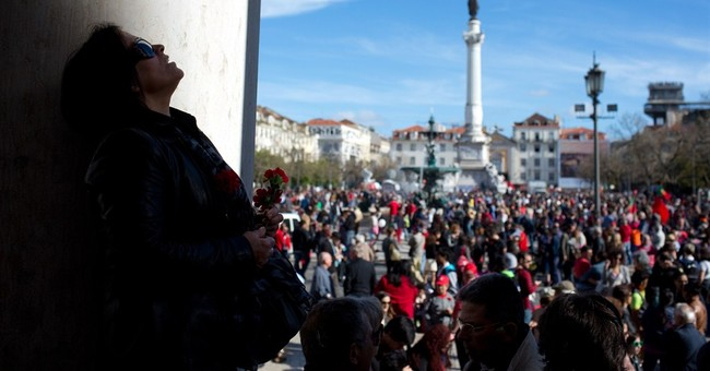 40 years after revolution, Portugal is angry