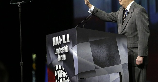 Possible GOP presidential candidates court NRA