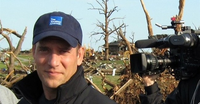 Weather Channel sends Bettes to chase tornadoes