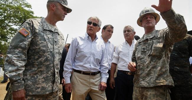 Hagel eyes value, danger of military goodwill