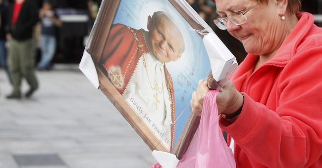 Pilgrims amass in Poland to celebrate John Paul II