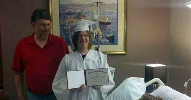 Hospice hosts teen's graduation so mom can attend