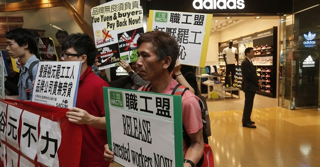 Strike at Chinese shoe factory ends partially