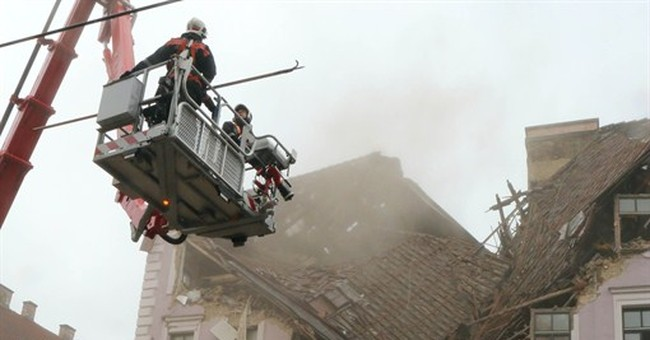 1 killed, 1 missing in Vienna building collapse