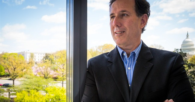 AP Interview: Santorum undecided in 2016 bid