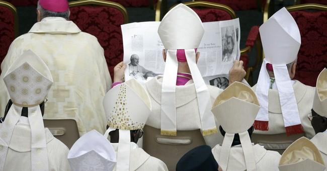 AP PHOTOS: John XXIII, John Paul II names saints