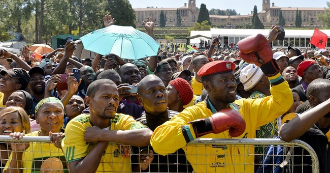 South Africa marks 20th anniversary of democracy