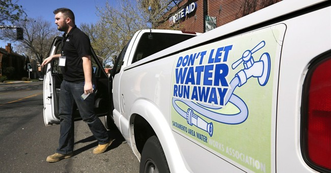 A few California cities start water-waste patrols