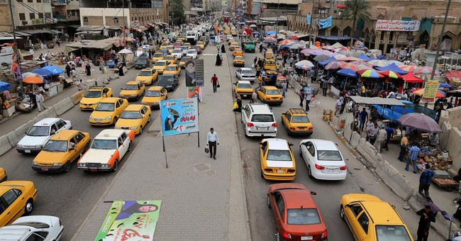 Dark days for Baghdad on eve of Iraqi elections