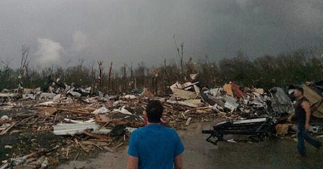 Tornadoes strike central, southern US, killing 12