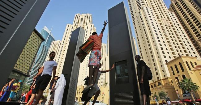 Hip beach in Dubai attracts all walks of life
