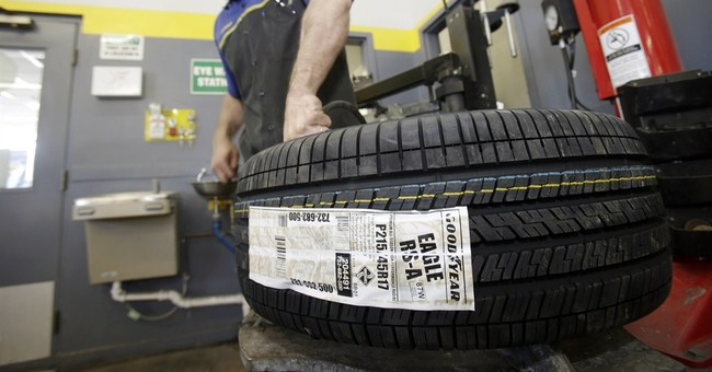 Goodyear posts 1Q loss of $58M
