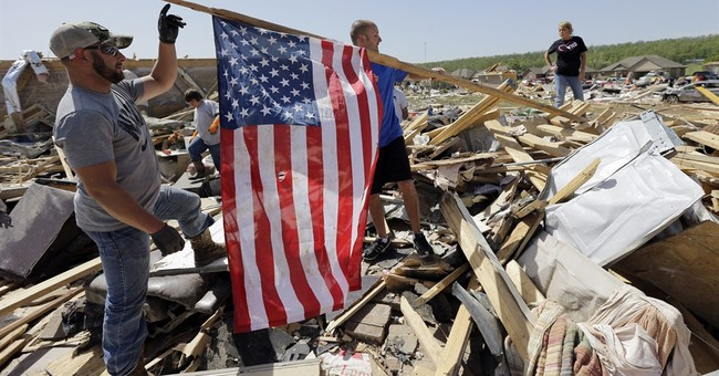 Tornado hits an Arkansas street particularly hard