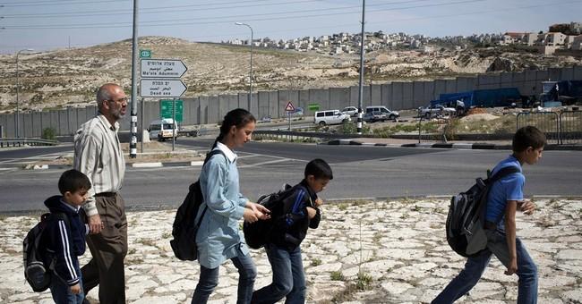 Israel's Jerusalem wall splits Palestinian family