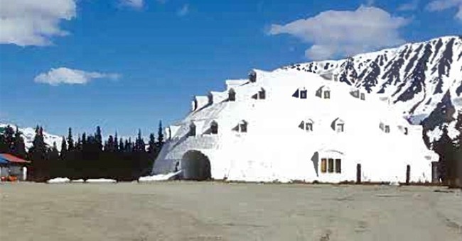 Landmark urethane igloo in Alaska for sale