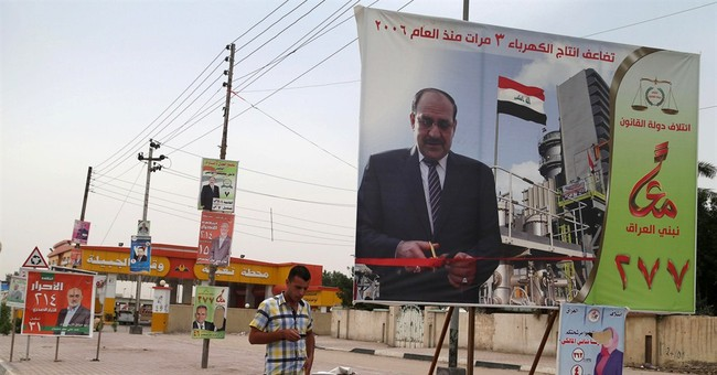 Iraq's al-Maliki facing discontent in election