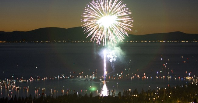 Suit: Lake Tahoe fireworks violate Clean Water Act