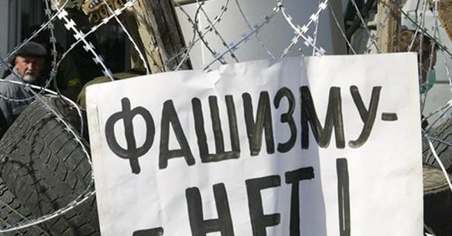 Russia evokes Nazi horrors to bash Ukraine