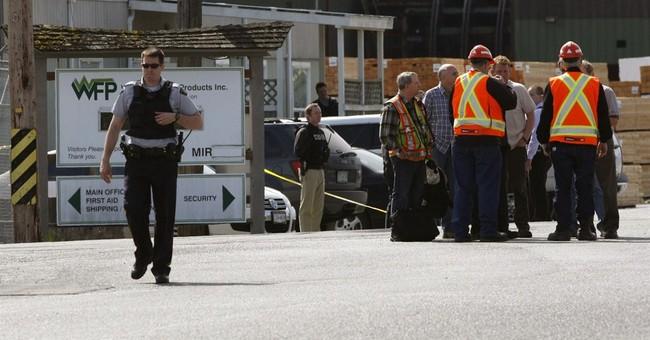 Canadian coroner: 2 shot dead at BC mill