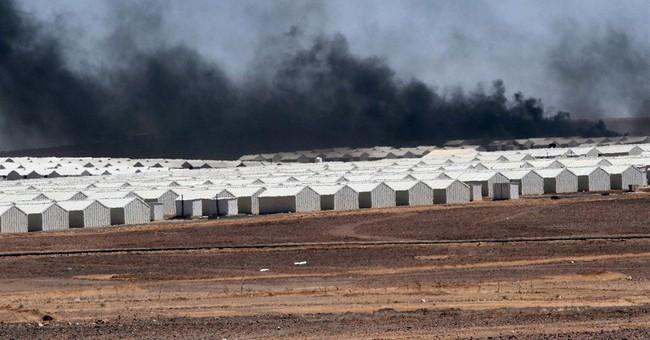 Jordan opens a massive refugee camp for Syrians