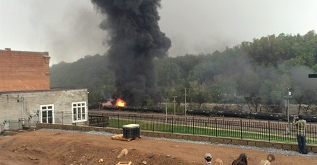 Oil-train wreck brings demands for more regulation