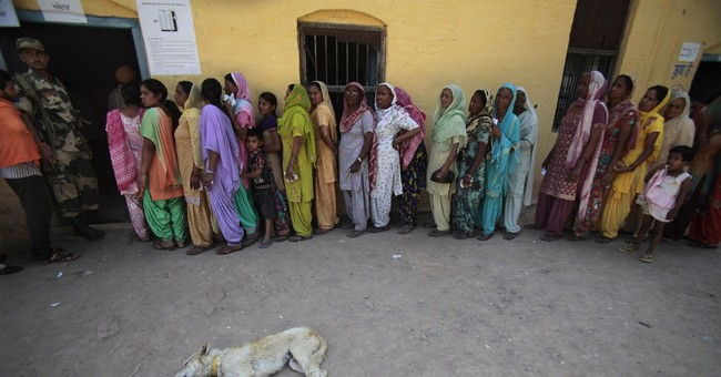 India's newest state votes for the first time