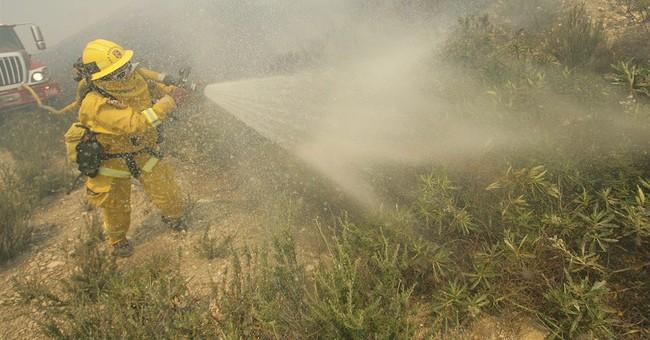 Mandatory evacuations lifted in California fire