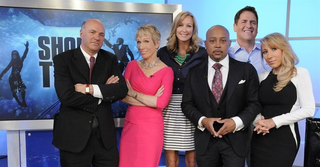 In the swim with the moguls of ABC's 'Shark Tank'