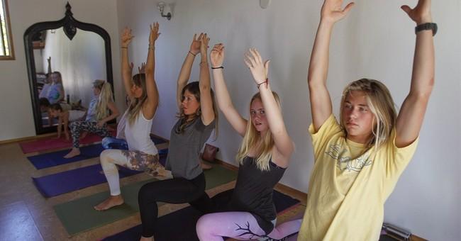 California girl, 12, among youngest yogis in US