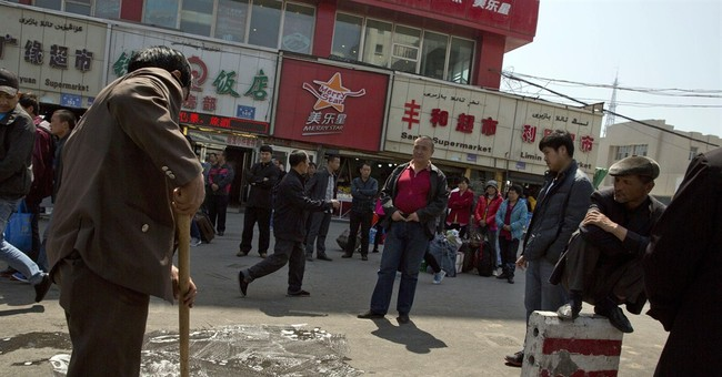 China train station blast seen as suicide attack