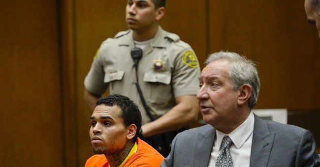 Attorneys discussing deal on Chris Brown probation