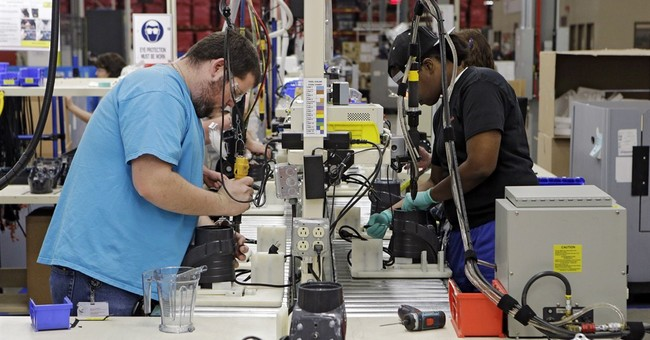US manufacturers expanded in April and filled jobs