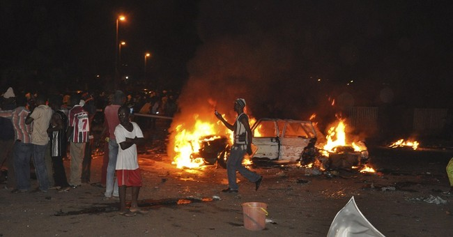 Explosion kills 12 in Nigerian capital, Abuja