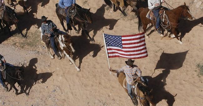 Nevada rancher's kin take grazing fight to sheriff