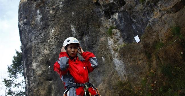 Women reach the top in Nepal's trekking industry