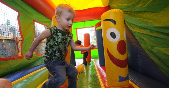 Couple holds out hope for missing bounce house