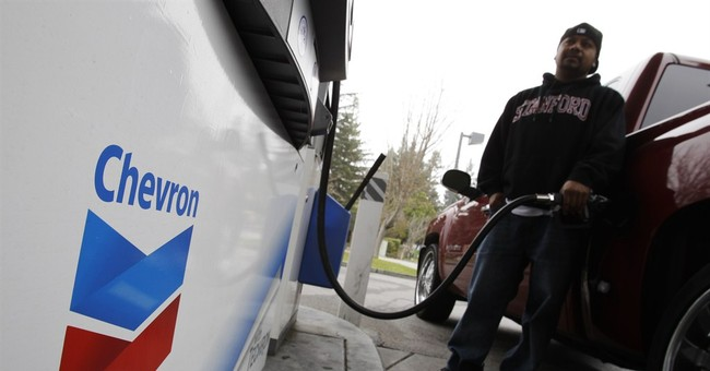 Chevron profit plunges on lower production, prices