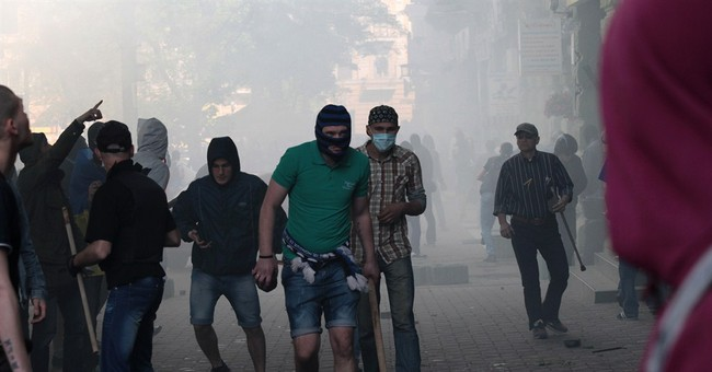 Police: 31 dead in protest-linked Odessa fire