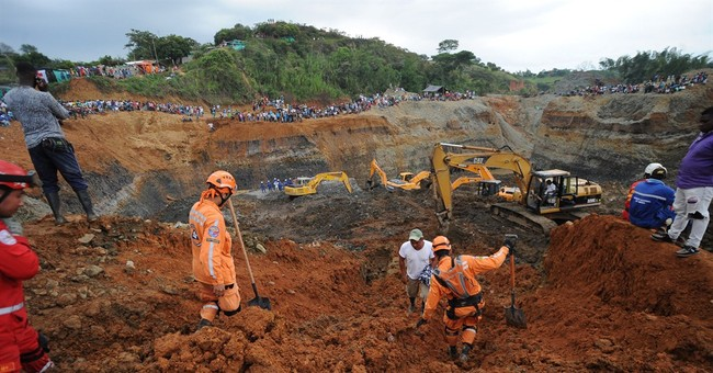 Illegal Colombia mine collapse: 3 dead, 15 missing