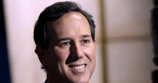 2016 campaign checklist: Santorum