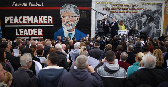 Belfast police seek evidence of Adams' IRA past